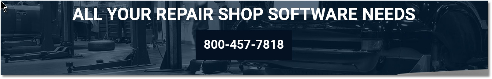 All your repair shop software needs